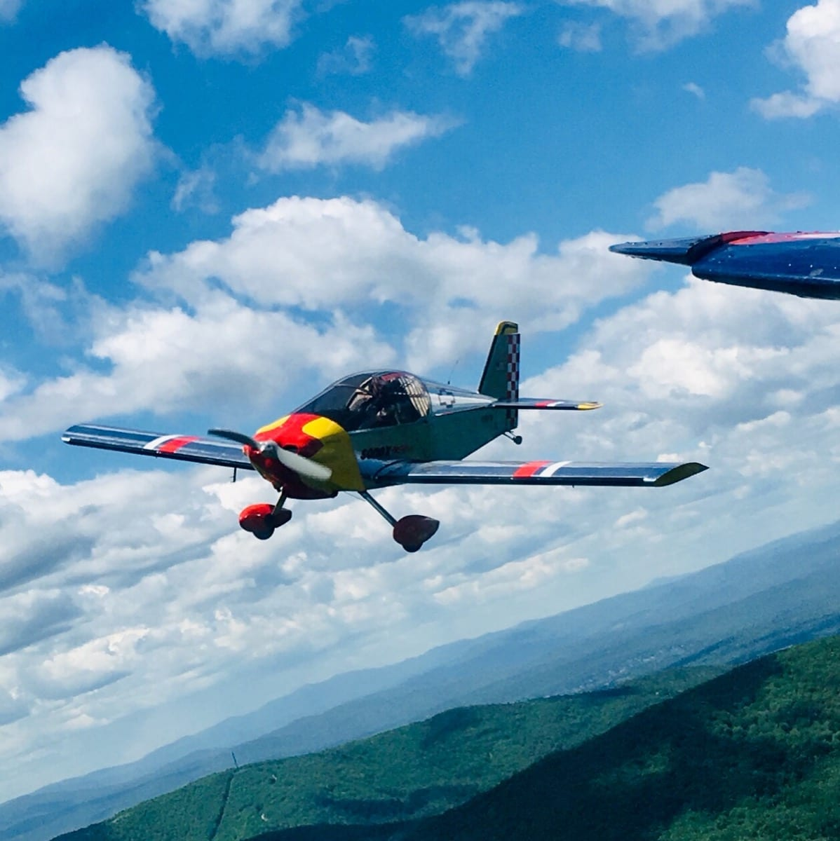 Picture of the Day: Formation flight dedication