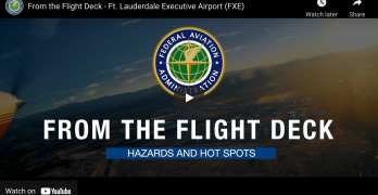 FAA's From The Flight Deck Video Series