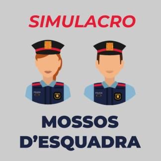 Simulacro Mossos 2021