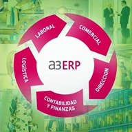 Programa informático contabilidad a3ERP (34 horas)