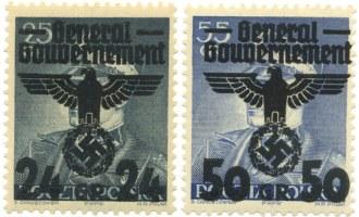 Przedruki znaczka z marszałkiem Rydzem-Śmigłym