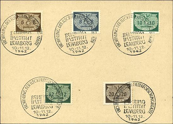 Kasownik 27- Eroffnung der Fleckfieberforschungsstätte Behring Institut Lemberg 10- 11. 12. 1942