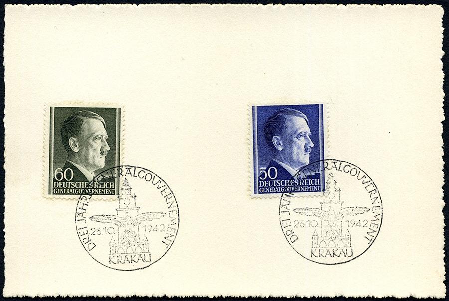 Kasownik 25 - Drei Jahre Generalgouvernement 26. 10. 1942 Krakau