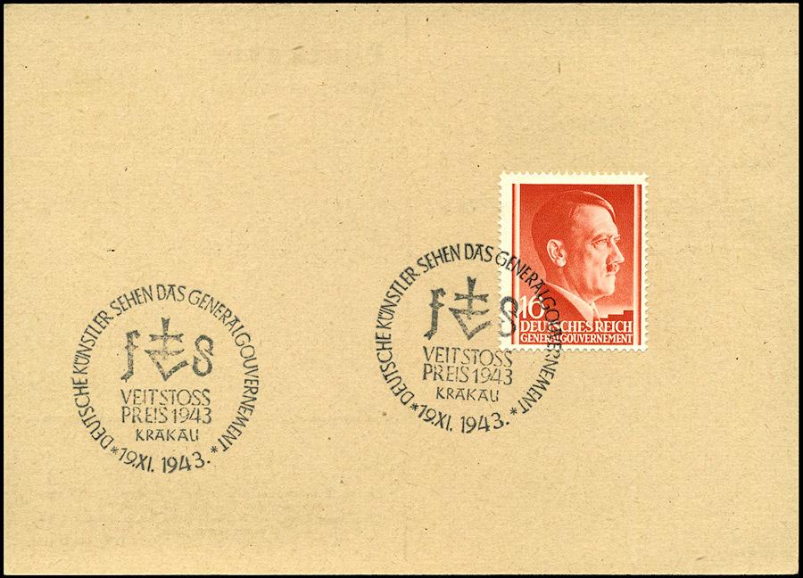 Kasownik 35 - Deutsche Kunstler sehen das Generalgouvernement Veit Stoss Preis 1943