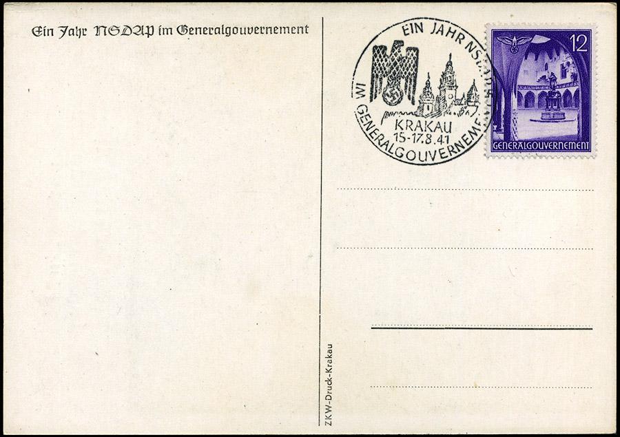 Kasownik 12 Ein Jahr NSDAP im Generalgouvernement Krakau 15-17. 8. 41