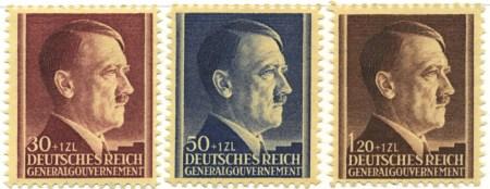 Seria 89-91 1942, 20 kwietnia. Wydanie z okazji urodzin Hitlera