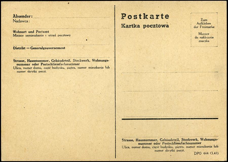 Kasownik nr 28 Mistrzostwa szachowe w Generalgouvernement 1943 Radom