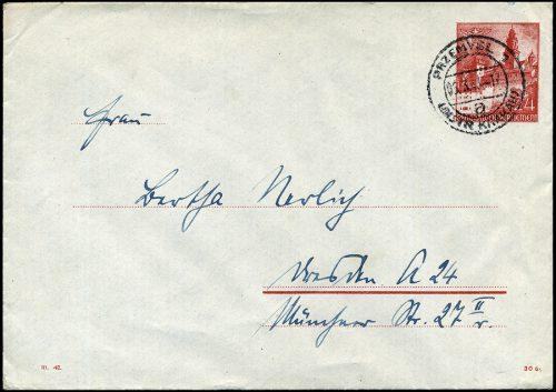 GG - KOPERTA Ck.2 sygn. III.42 PRZEMYŚL 1943