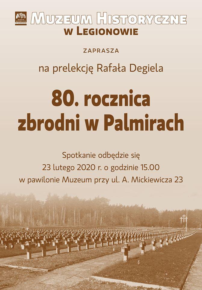 80 ta rocznica zbrodni w Palmirach