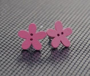 earrings pink 1