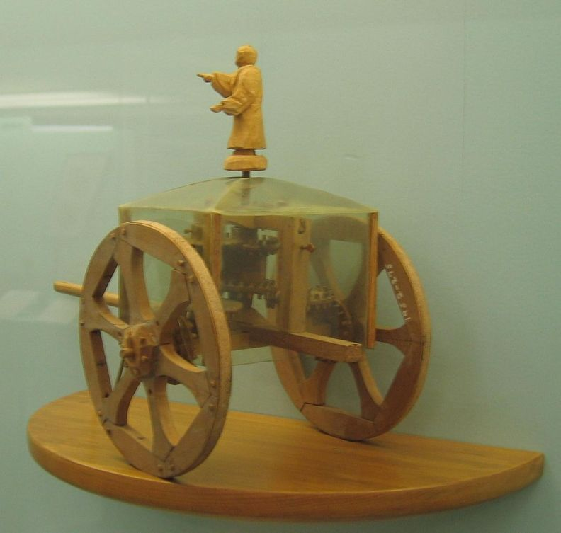 South-pointing chariot