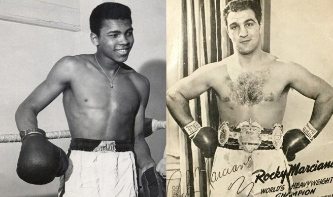 Ali and Marciano