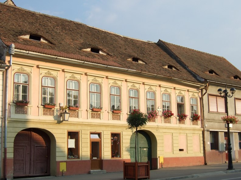 Another Sibiu house with eyes