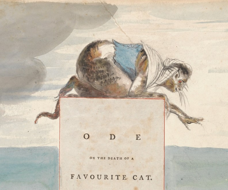 Ode on the Death of a Favourite Cat - frontispiece