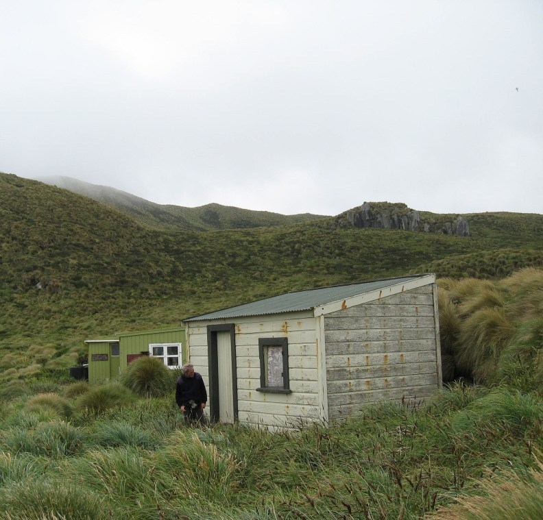 Castaway Hut on the Antipodes Islands