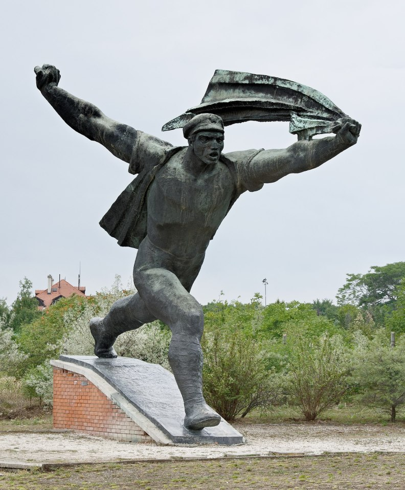 Worker monument in Budapest
