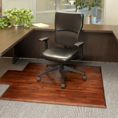 Office Chair Mat Covers Using Pillow Cases Wood Desk 259 99 In Teak For By Anji Mountain Bamboo Rug Co