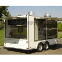 Kitchen Trailer The Latest Gadgets Atc Aluminum Mobile Concession Advantage