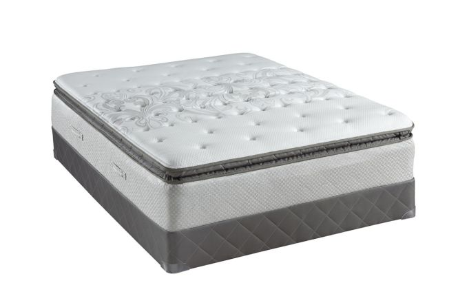 Sealy Posturepedic Gel Series Cushion Firm Euro Pillow Top Mattresses