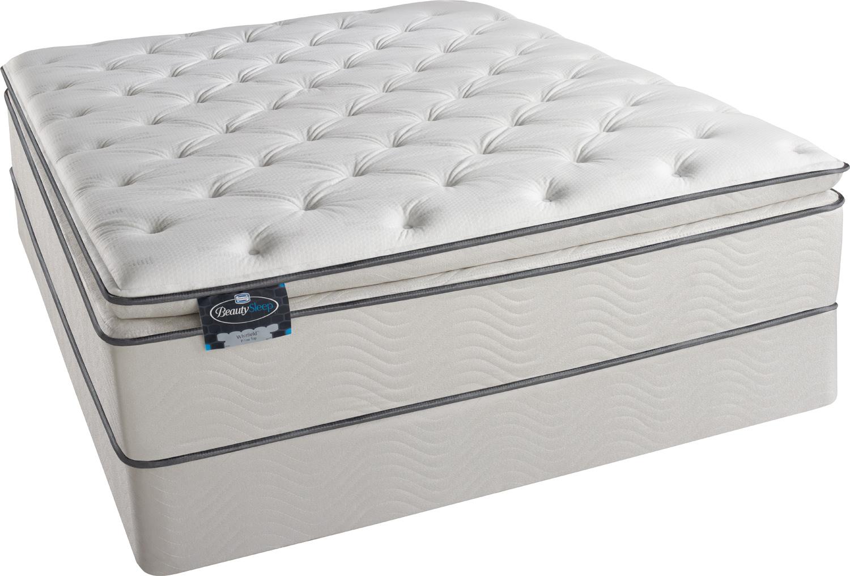 Simmons BeautySleep - Euro Pillow Top Foam Encased Mattress