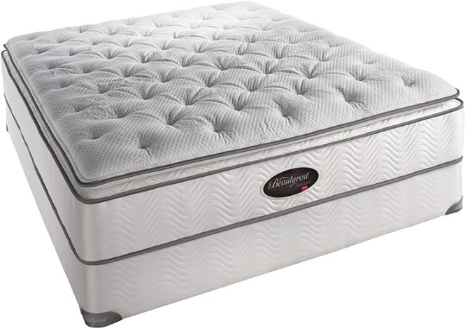 Simmons Beautyrest Latex Super Pillow Top Plush Or Firm