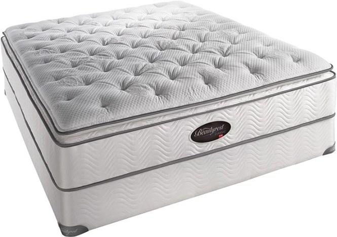X Simmons Beautyrest Classic Latex Firm Pillow Top