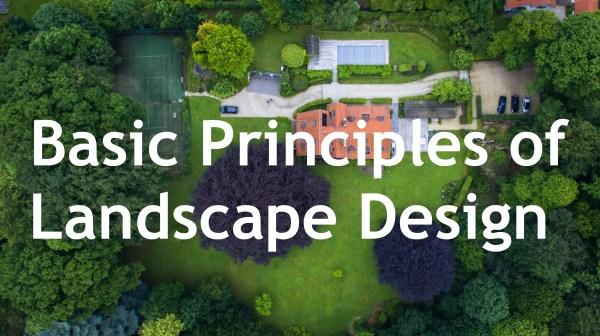 basic principles of landscape