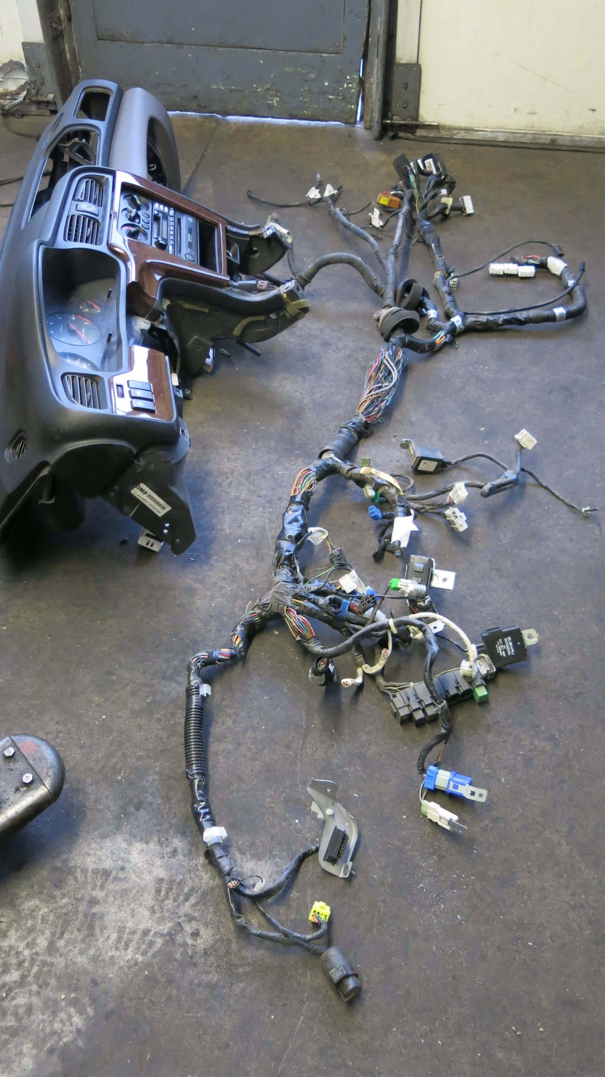 hight resolution of the westfalia syncro subaru engine conversion wiring harness