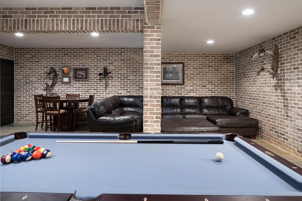 Ironworks Basement with Pool Table web