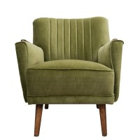 General Store Ltd. | Chairs | Green Velvet Arm Chair