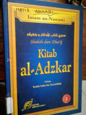 Tahrif Kitab Wahabi - Salafy-Al-adzkar-Imam-Nawawi-03