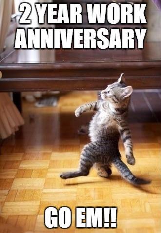30 Year Work Anniversary Meme : anniversary, Happy, Anniversary, Laugh, Madly