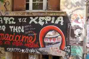 Athènes dans la crise en photos