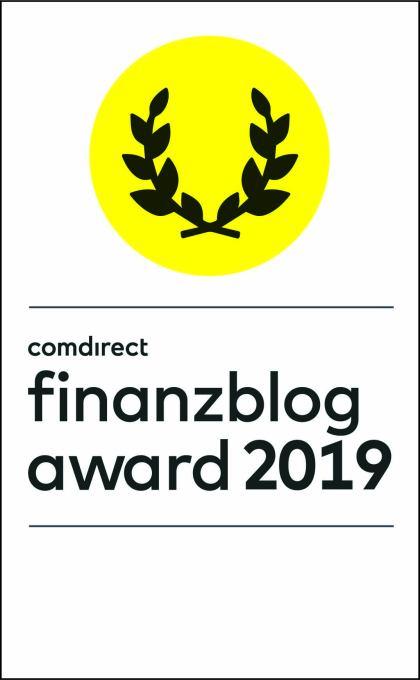 comdirect finanzblog award 2019 #fba19 - Generation Finanzen ist dabei!