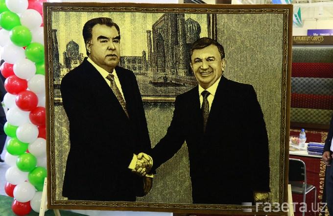 Präsidenten-von-Tadschikistan-und-Usbekistan