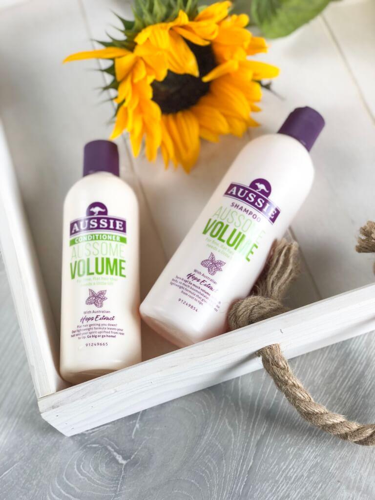 Aussome Volume - Shampooing et Conditionner pour les cheveux raplapla