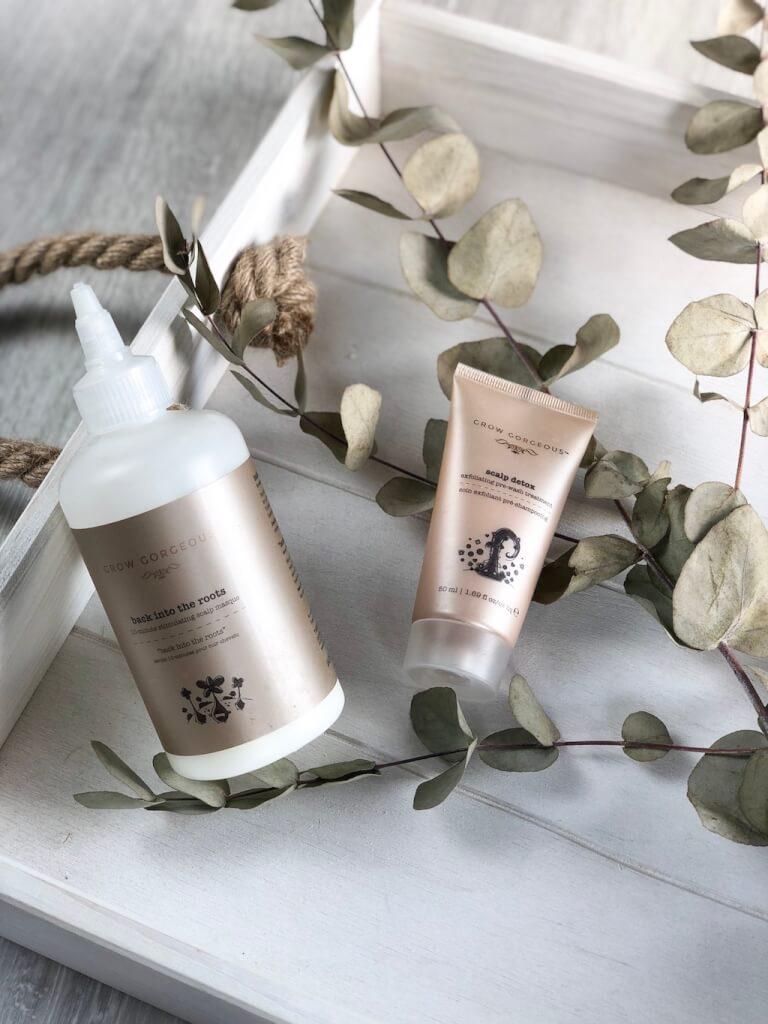 Masque stimulant et soin exfoliant - Grow Gorgeous