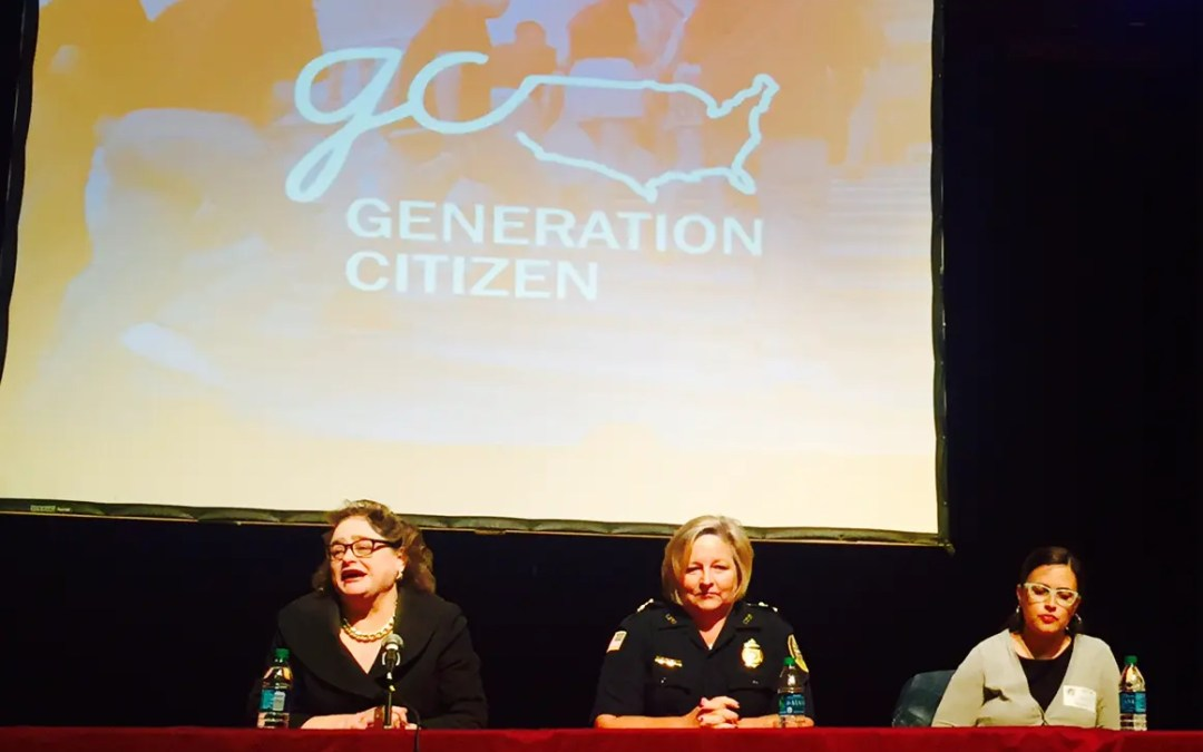 450 Students Take Part in Generation Citizen Launch at Lowell High School