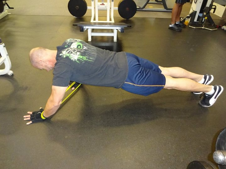 Loop Band Shoulder Exercise