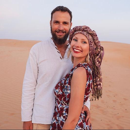 Oman Desert Dunes