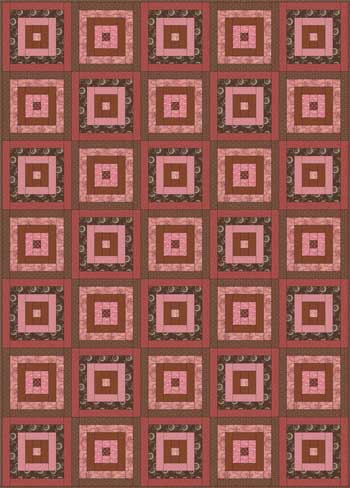 Courthouse Steps Quilt Pattern : courthouse, steps, quilt, pattern, Courthouse, Steps, Quilt, Pattern:, Beginner