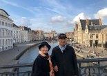 Mr. and Mrs. Kobayashi in Ghent
