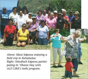 Alu Like Kupuna Program - Generations Magazine - June - July 2012