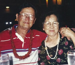 Mike and Diana Misaki in their healthy years.