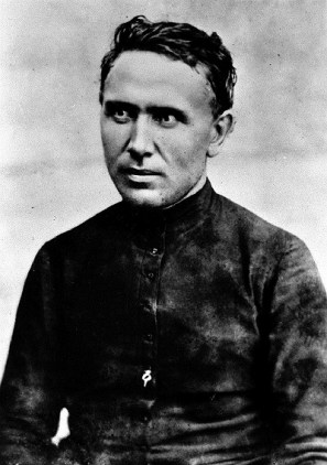 Saint Damien, photo credited to Sacred Hearts Archives, Rome