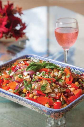 Generations Magazine - August-September 2016 - Roasted-Veggie-Garbanzo-Salad_image1