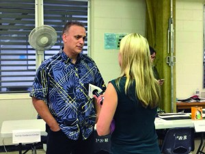 Kimo Alameda is interviewed by Allyson Blair from Hawaii News Now.