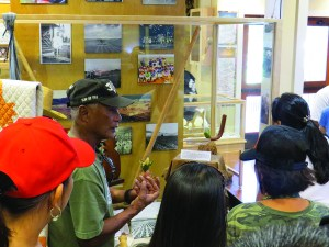 Guests from near and far explore island history at Lāna'i Culture and Heritage Center. (Images courtesy of LCHC)