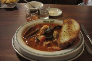 Cioppino, Tadich Grill, San Francisco