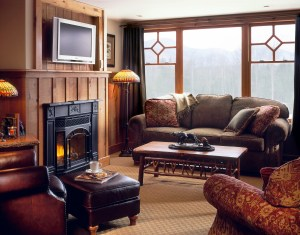 Whiteface Lodge Suite Living Area